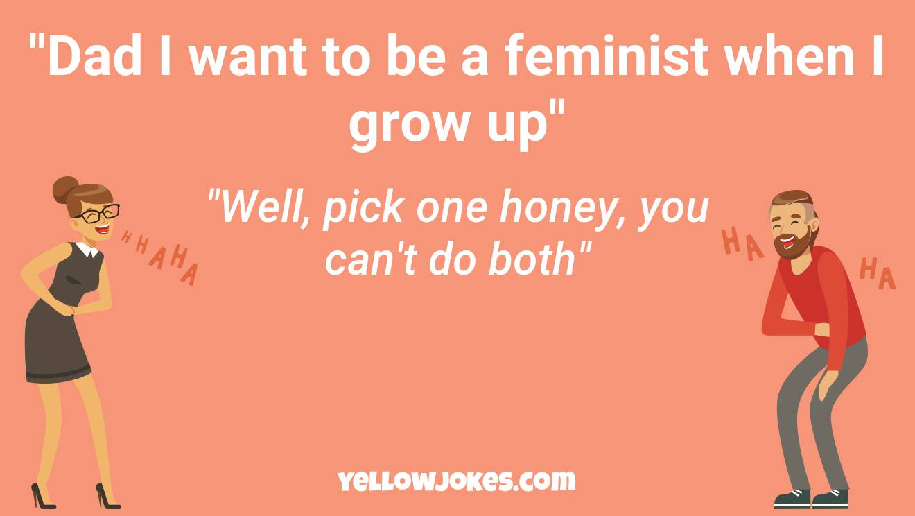 Funny Feminist Jokes