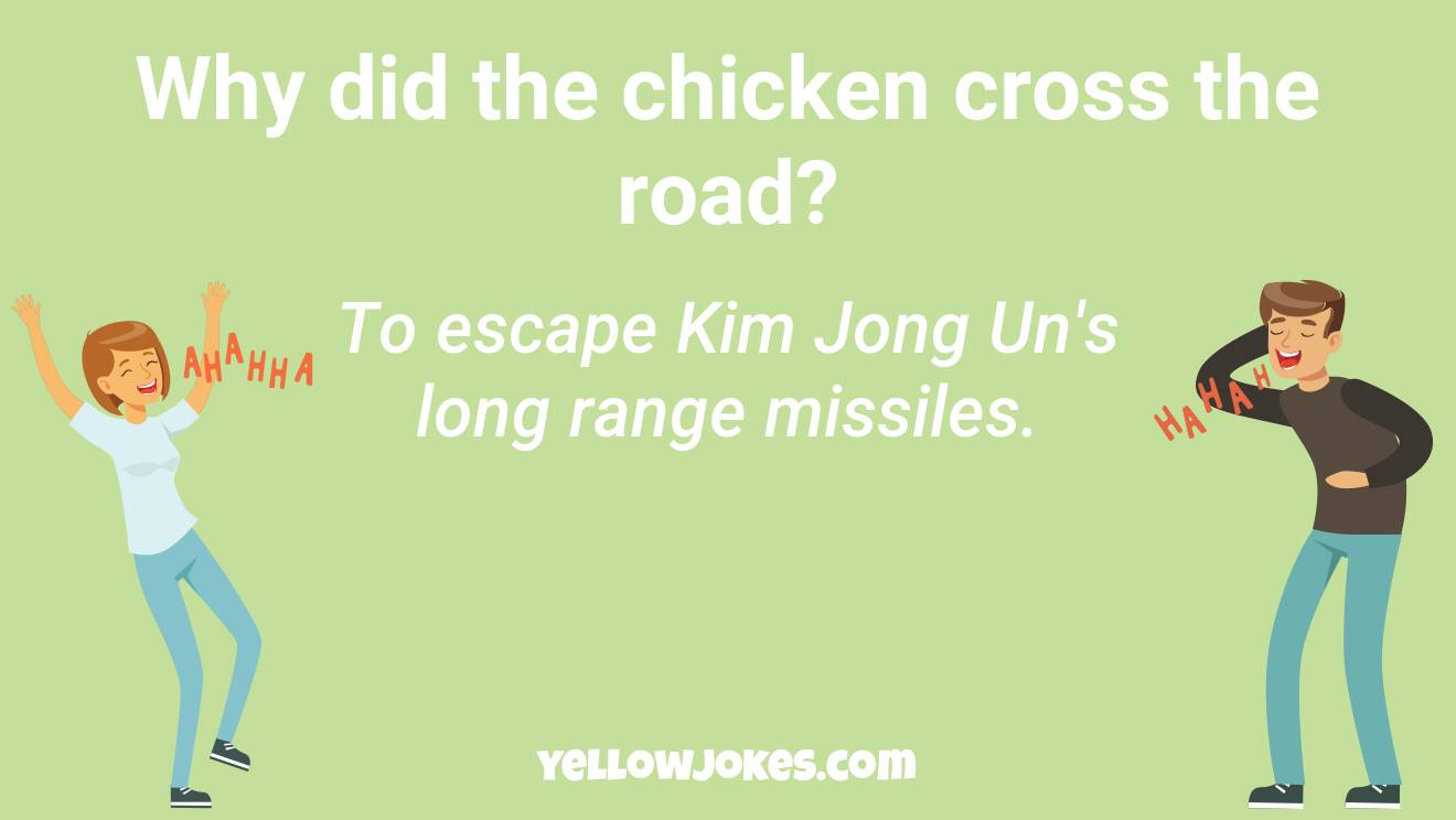 Funny Why Did The Chicken Cross The Road Jokes