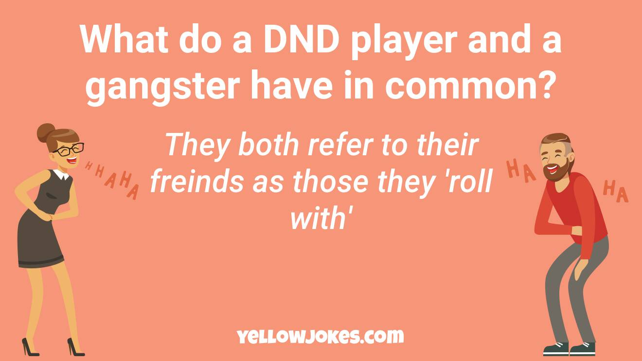 Funny Dnd Jokes