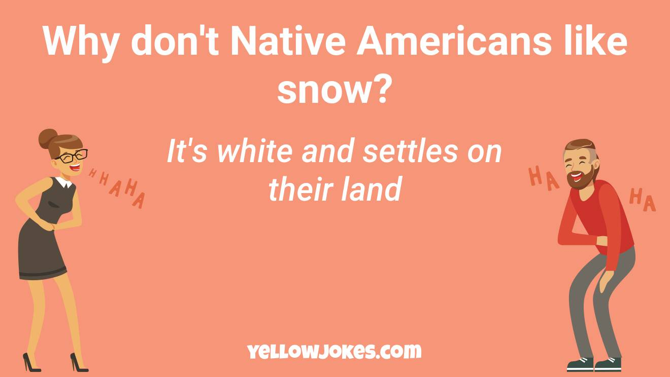 Funny Native American Jokes