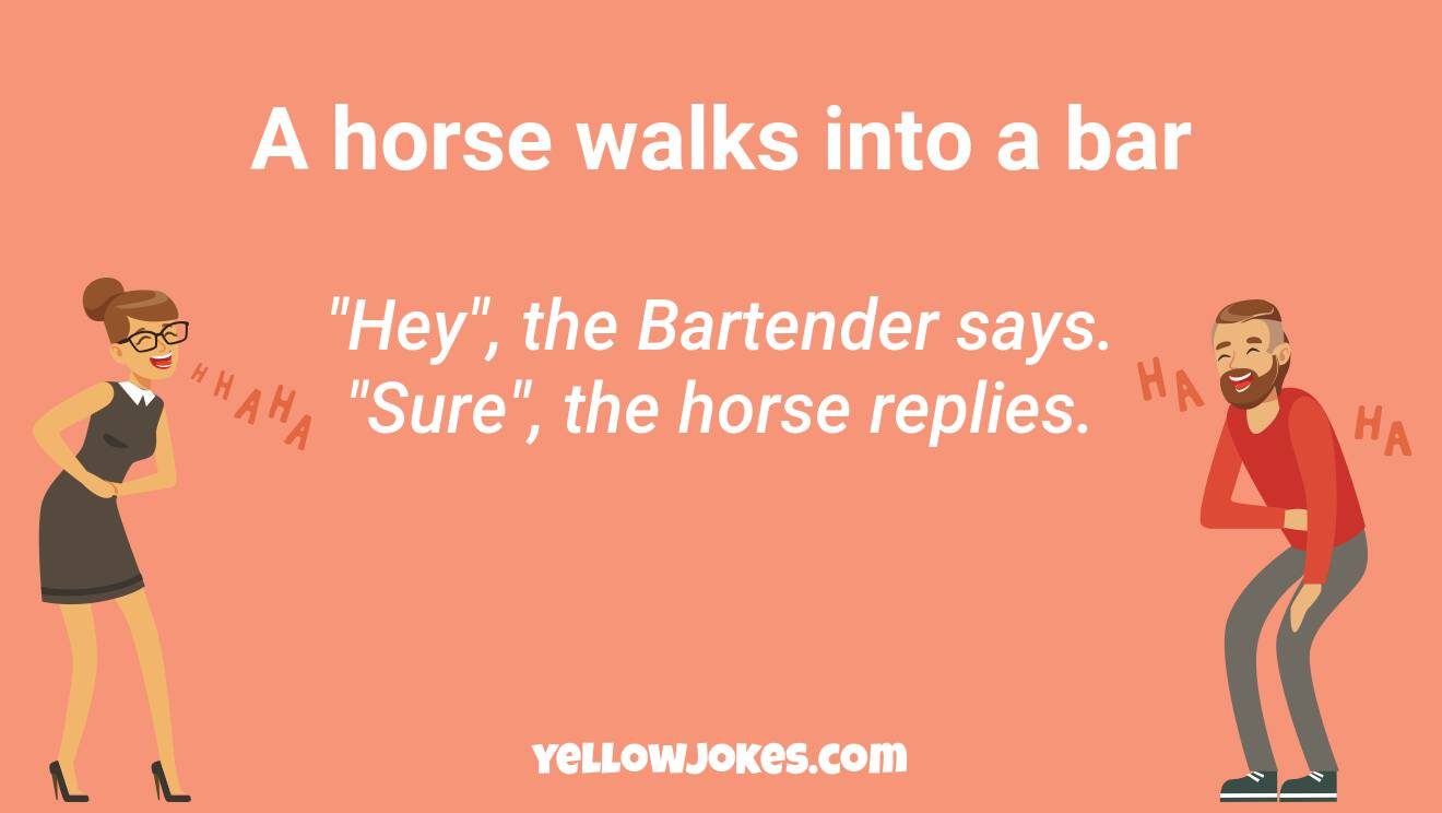 Hilarious Horse Walks Into A Bar Jokes That Will Make You Laugh