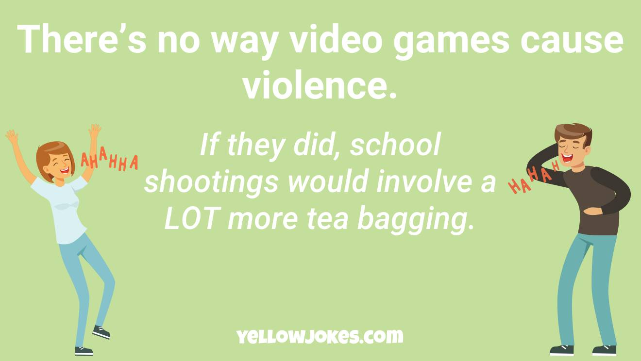 Funny School Shooting Jokes