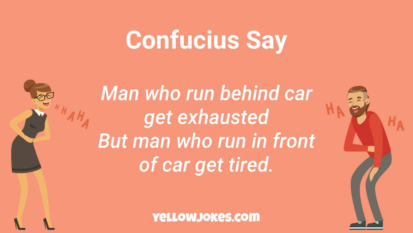 Funny Confucius Jokes